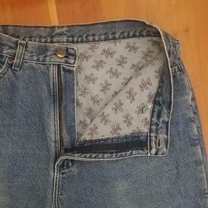 Vintage Fleece Lined LL Bean Jeans